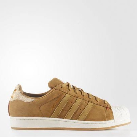 adidas Other - Adidas Original Superstar Brown Suede Sneakers